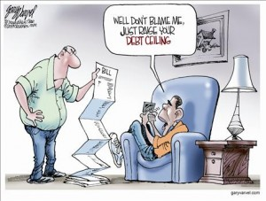 """Obama channels Oliver Twist: """"Please sir, I want some more"""" (debt that is)"""