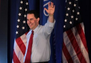 Media bias:  Walker's 'close' 7 point margin vs Obama's 'decisive' 6