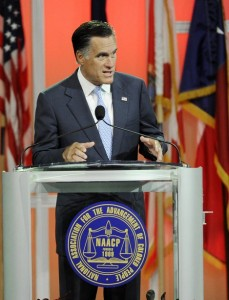 NAACP, left wing media goes rabid on Romney speech