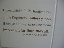 Constitution Day 2012:  The 'Fourth Estate' worthy no more