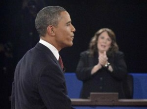Debate #2:  Crowley/Obama cuddle-fest leaves Romney out in the cold