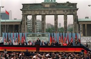 Obama at Brandedburg Gate:  No JFK, no Reagan, no President
