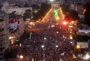 Egyptian military did not act in a vacuum