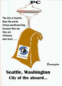 That awful, racist, brown bag