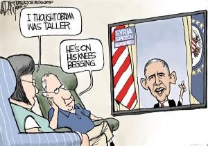 Obama's 'never mind' Syria speech:  Can't beat em? Confuse em!