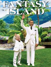 Christie's and Obama's Fantasy Islands highlight press preference