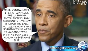 Obama's predictable 60 minutes excuses a far cry from Kennedy's unpredictable Bay of Pigs responsibility