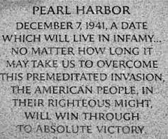 "Our ""too hard"" is nothing to their sacrifice:  Pearl Harbor at 73"