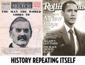 Obama channeling Chamberlain appeasement shows a dangerous future