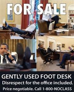 Obama's disrespect to the Office of the Presidency second to none