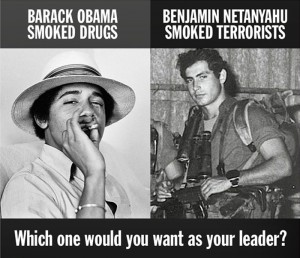 Obama v Netanyahu: Two boys, two VERY different men