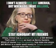 Hillary must deny history to make history
